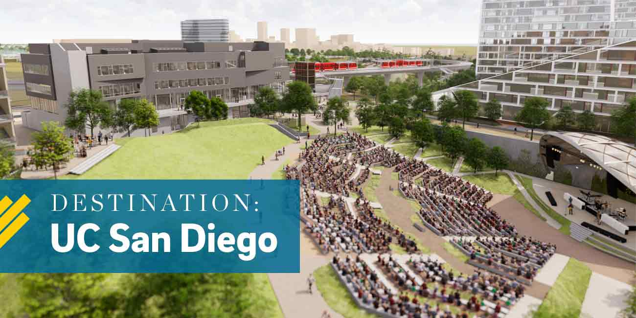 Destination: UC San Diego