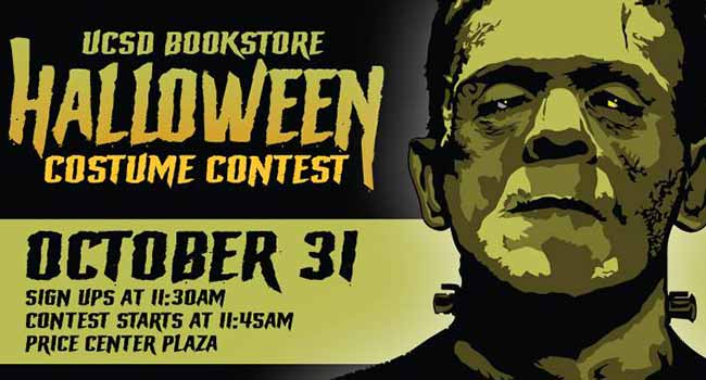 UCSD Bookstore Halloween Costume Contest Oct. 31