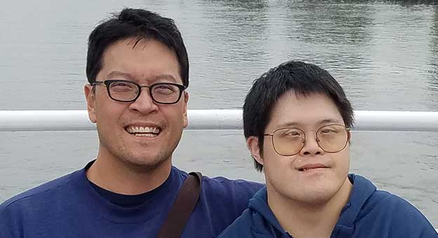 Geoffrey Chang and Randy