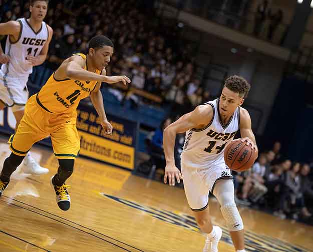 UCSD Men's basketball game