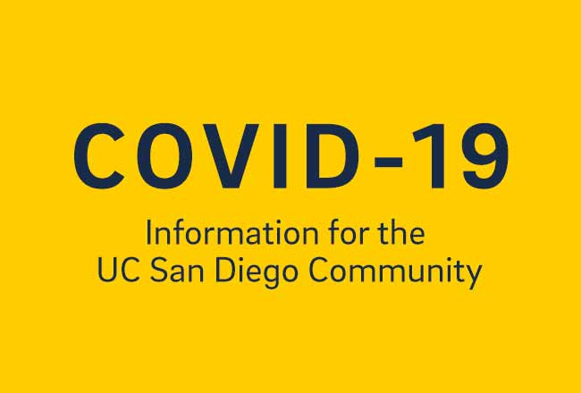 COVID-19: Information for the UC San Diego Commmunity