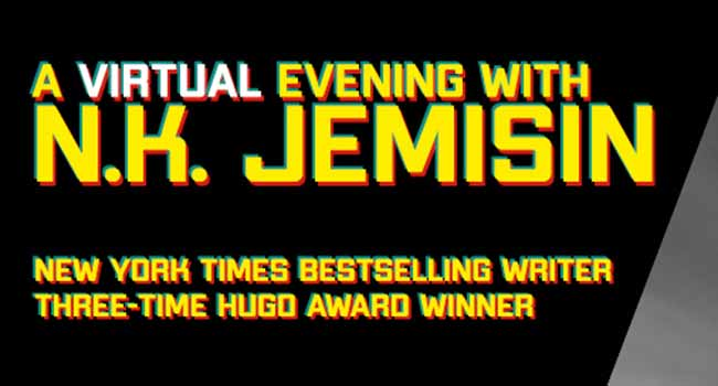 A Virtual Evening with N.K. Jemisin