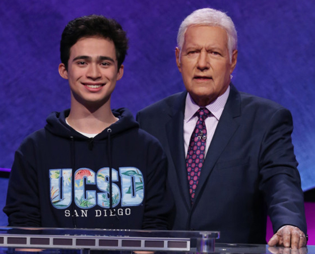 ucsd sophmore competing in Jeopardy show