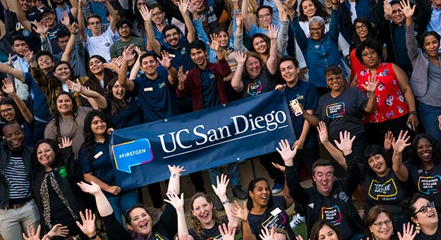 ucsd first generation students