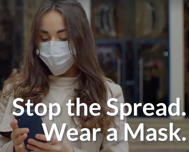 Stop the Spread. Wear a Mask