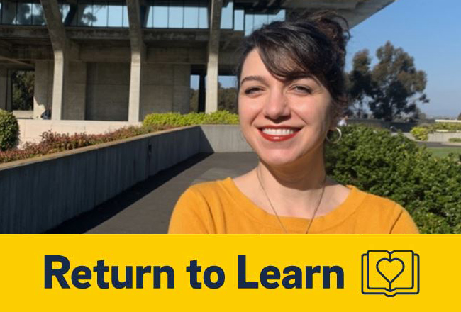 UC San Diego's campus privacy officer, Pegah Parsi.