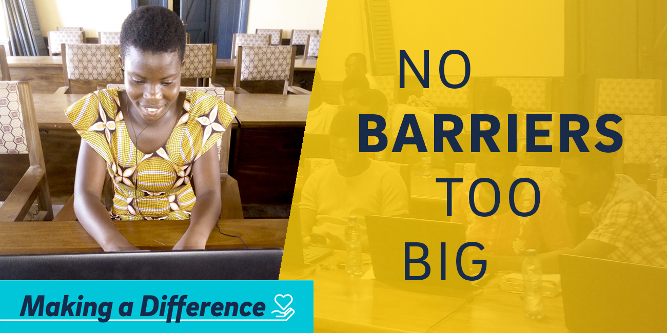 No Barriers Too Big.
