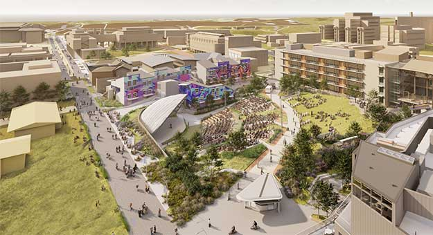 Pepper Canyon Ampitheater rendering.
