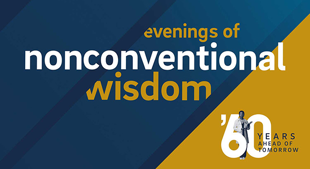 Evenings of Nonconventional Wisdom graphic.