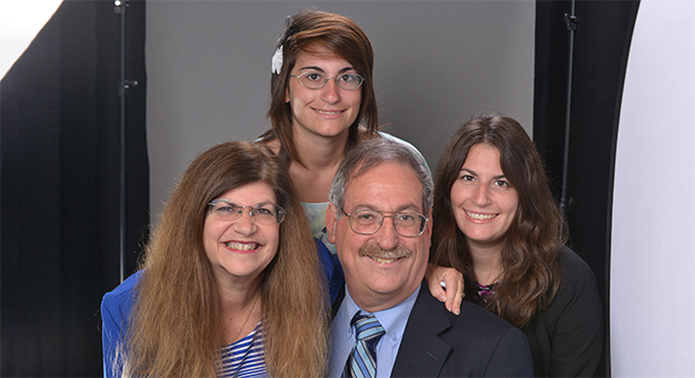 Irvin Silverstein and family.