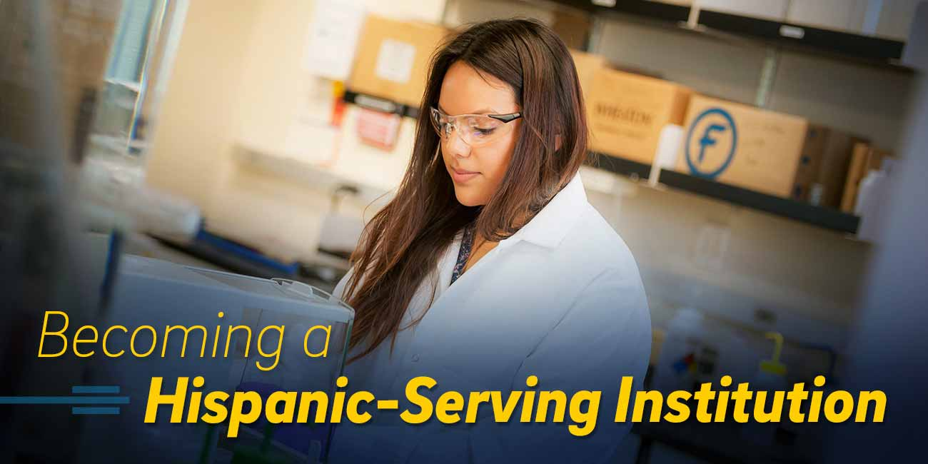 Becoming a Hispanic-serving Institution.